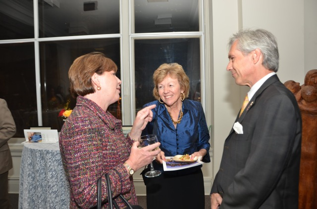 Changing Lives Gala guests: Patricia Rehmer, CT Commissioner of Mental Health & Addiction Services, (left) with Director of Nursing Cindy Adams and State Rep. Peter Tercyak, an alumnus of the nursing program