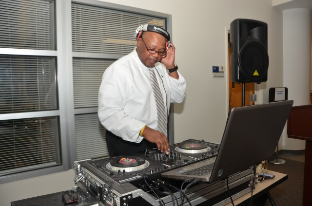 "IT Faculty Member Michael ""DJ Mike"" Ligon."